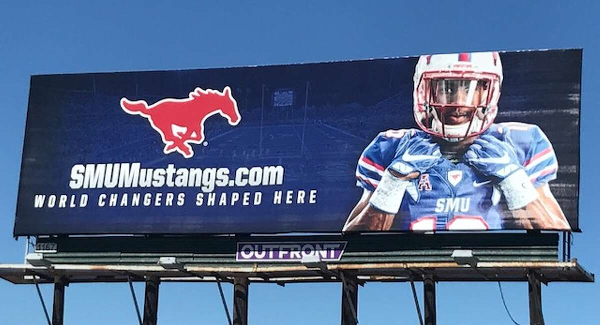 SMU has placed a billboard directly in UH's backyard.