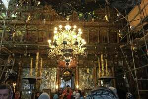 Interior of the Church of the Nativity. (Photo by Azra Haqqie)