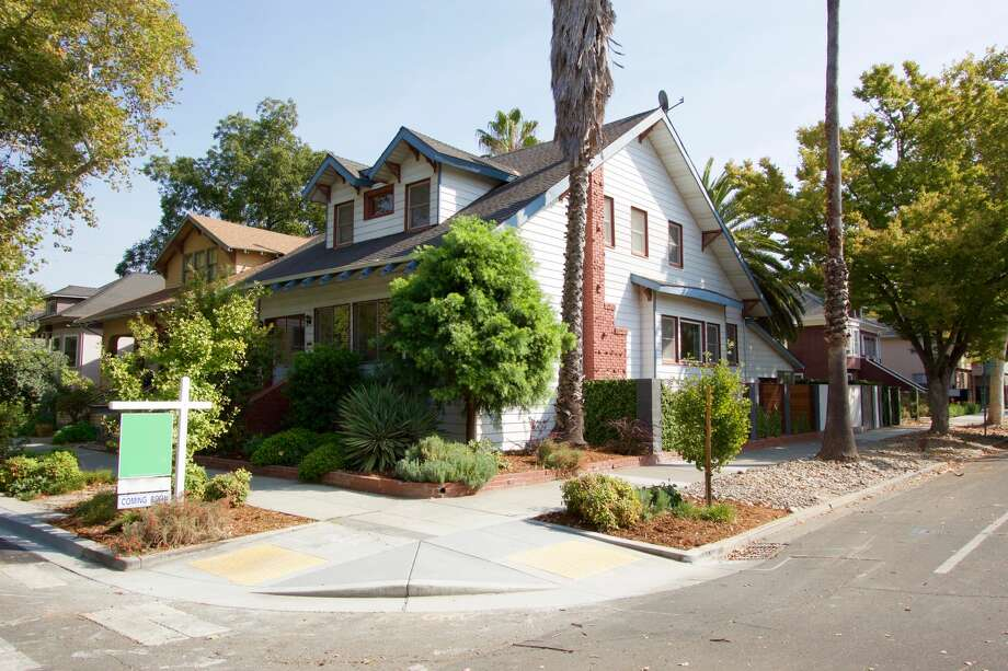 Herb Caen's childhood home at 1631 26th St. in Sacramento is on the market for $714,000. Photo: Better Homes And Gardens Real Estate