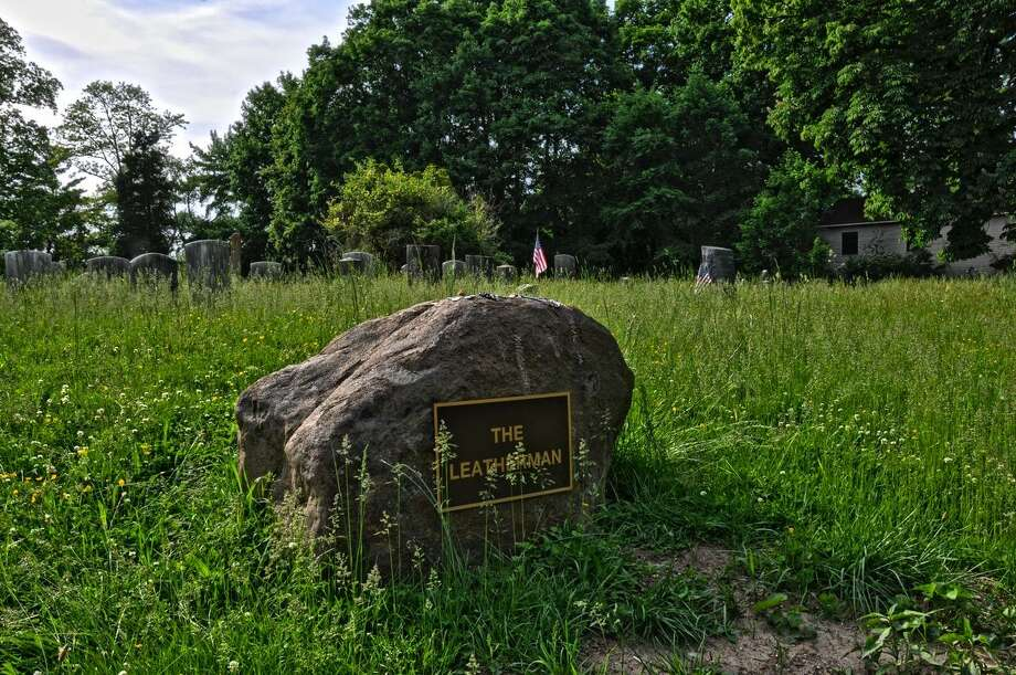 The Leatherman's grave in Ossining, NY. Photo: Contributed Photo