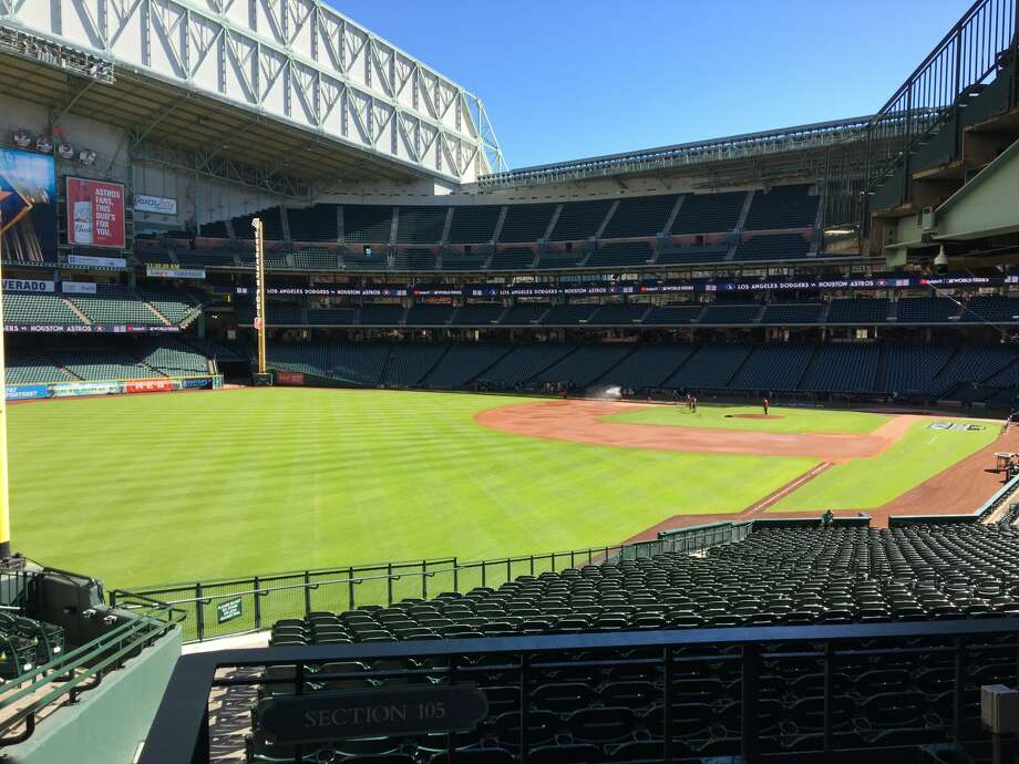 Directors of the Harris County Houston Sports Authority will vote Monday to extend the Astros' lease at Minute Maid Park through 2050, a decision that the authority described as a boon for taxpayers and an example of the stadium's sound design and long-term staying power. Photo: Craig Hlavaty