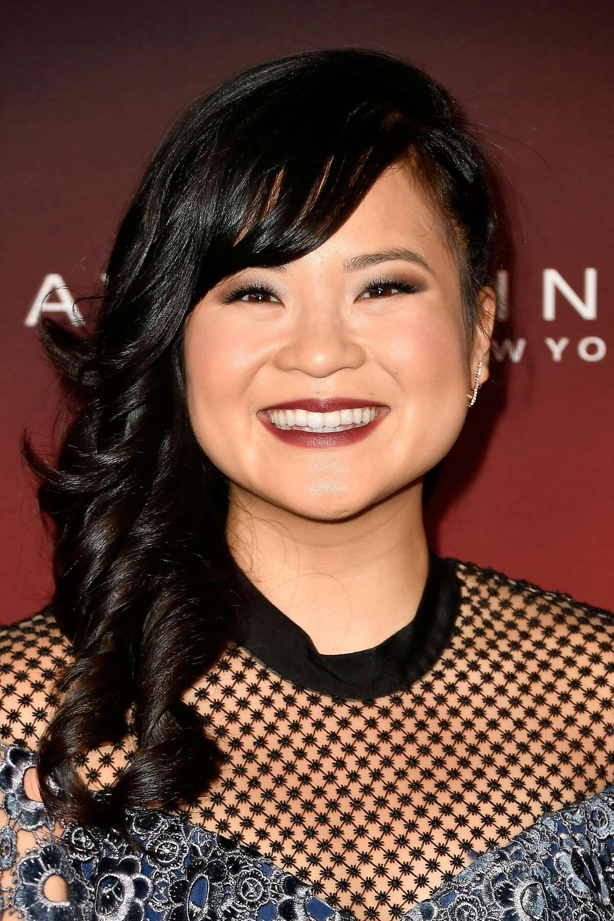 """LOS ANGELES, CA - OCTOBER 04: Kelly Marie Tran attends People's """"Ones To Watch"""" at NeueHouse Hollywood on October 4, 2017 in Los Angeles, California. (Photo by Frazer Harrison/Getty Images)"""