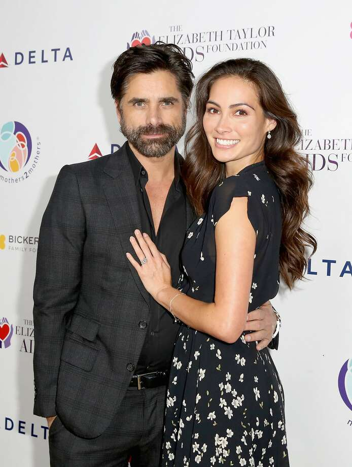 John Stamos, 54, and fiancee Caitlin McHugh, 31, are expecting a child in spring 2018.   Photo: Rachel Murray, Getty Images For Mothers2mothers