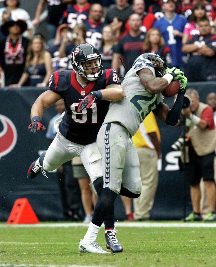 Coming off their bye week, the Texans have traveled to Seattle and will face the Seahawks on Sunday.Scroll through the slideshow to see John McClain's keys to the game. Photo: Cody Duty, Staff / © 2013 Houston Chronicle