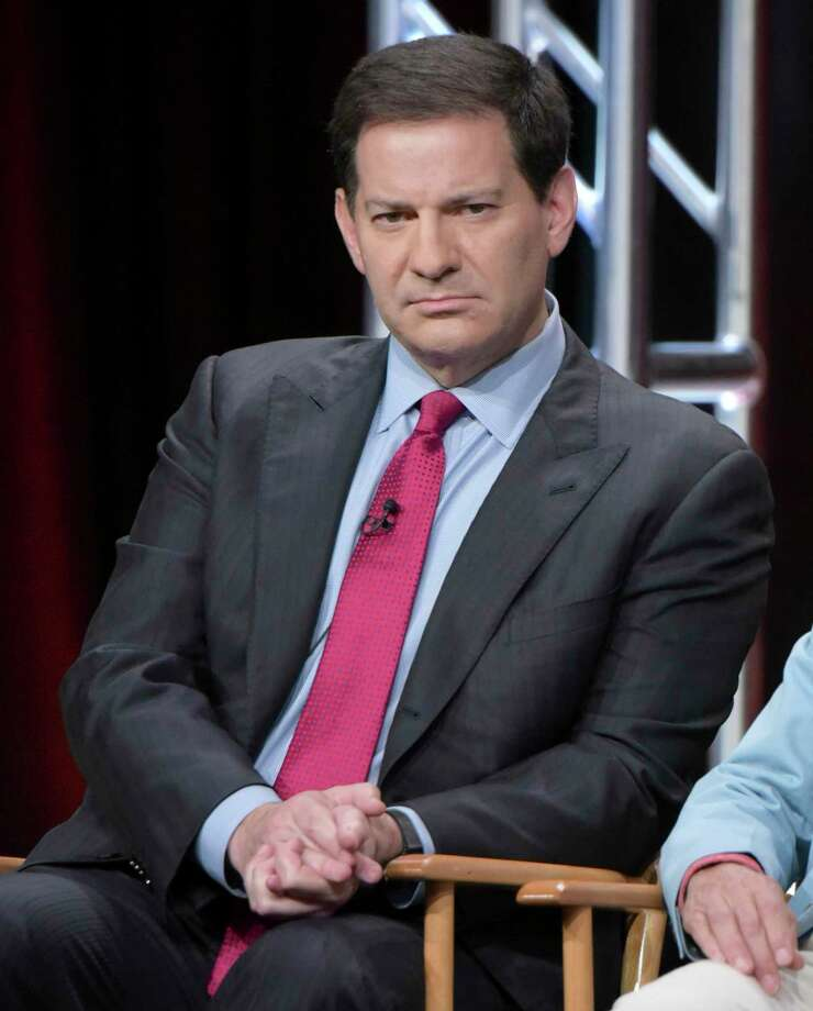 """FILE - In this Aug. 11, 2016 file photo, producer Mark Halperin participate in """"The Circus of Politics"""" panel during the Showtime Critics Association summer press tour in Beverly Hills, Calif. Veteran journalist Halperin is apologizing for what he terms """"inappropriate"""" behavior after five women claimed he sexually harassed them while he was a top ABC News executive. The co-author of the best-selling book """"Game Change"""" told CNN Wednesday night, Oct. 25, 2017, that he's """"deeply sorry"""" and is taking a """"step back"""" from day-to-day work to deal with the situation. (Photo by Richard Shotwell/Invision/AP, File) Photo: Richard Shotwell, INVL / Invision"""