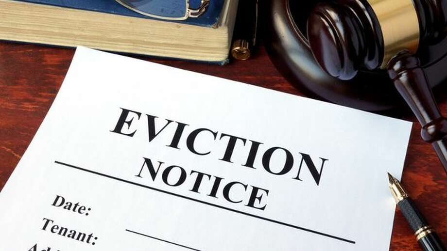 A file photo of an eviction notice. Photo: Designer491/iStock