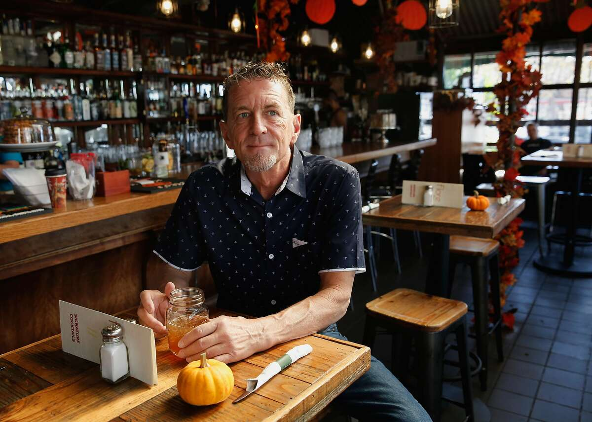 Owner Terrance Alan of Cafe Flore, in San Francisco, Ca. on Thursday October 26, 2017, hopes to turn the business into San Francisco's first cannabis cafe.
