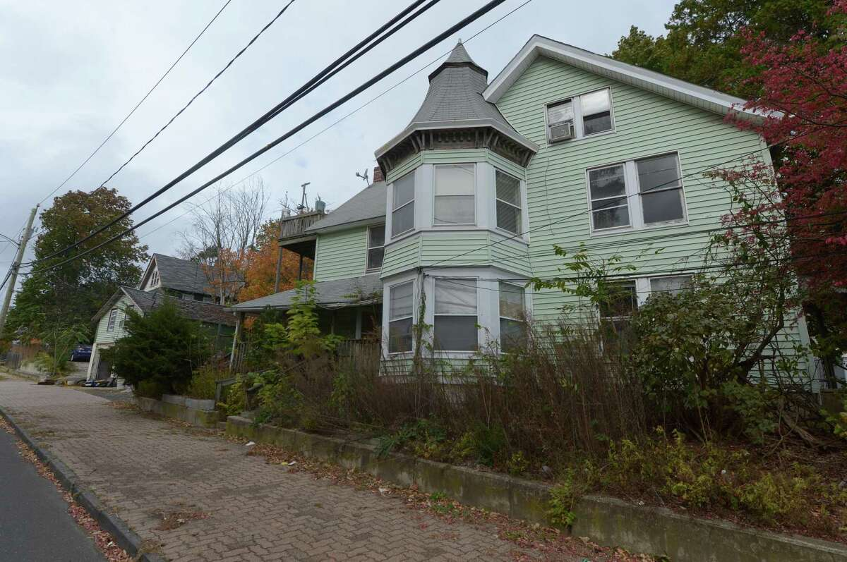 The house at 125 Main St. near the corner of West Main Street and Main Street Tuesday, October 24, 2017, in Norwalk, Conn. A 10-pump Cumberland Farms gas station is seeking approval to build at the intersection of West Main St and Main St. Building would require tearing down historic homes.