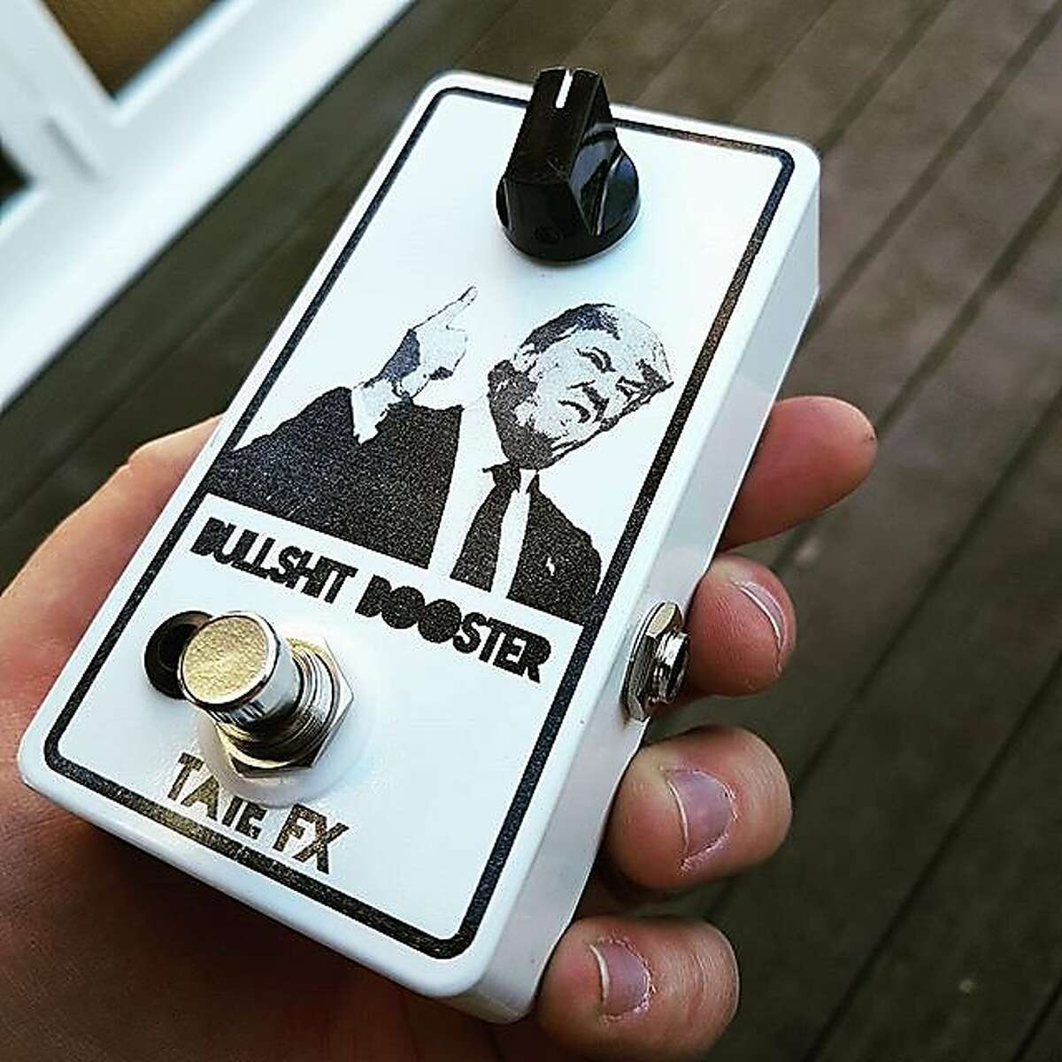 Bullshit Booster by Tate FX of London, England�(from the exhibit �PedalCulture: The Guitar Effects Pedal as Cultural Artifact� at San Francisco State University)