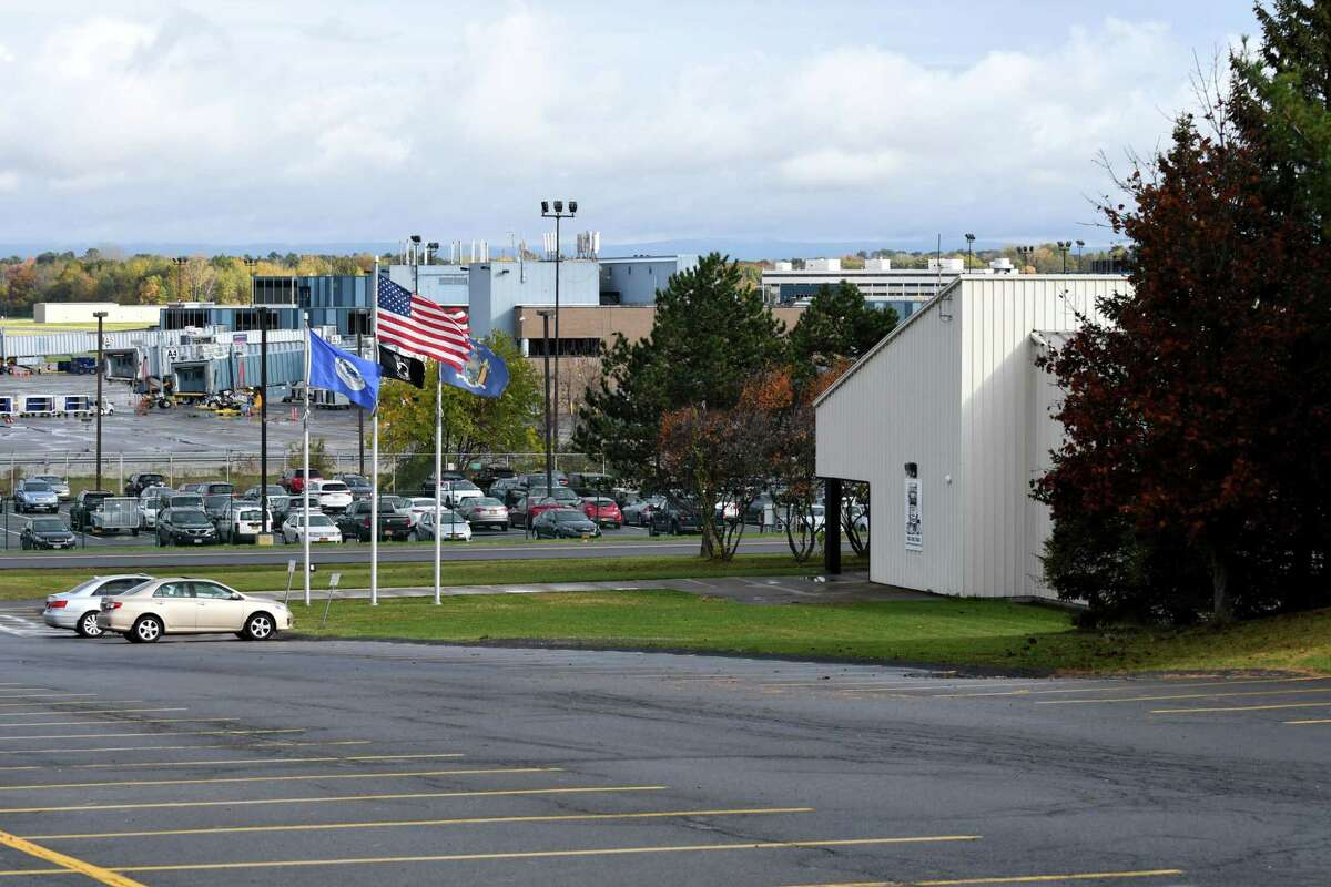 The Albany County Hockey Facility on Thursday, Oct. 26, 2017, in Colonie, N.Y. Albany County is quietly exploring the sale of the ice rink adjacent to Albany International Airport. (Will Waldron/Times Union)