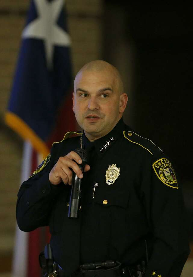 Bexar County Sheriff Javier Salazar, seen on Oct. 26, 2017, said a 17-year-old who was shot by a deputy Sunday is facing serious felony charges if he survives his injuries. Photo: Edward A. Ornelas /San Antonio Express-News / © 2017 San Antonio Express-News