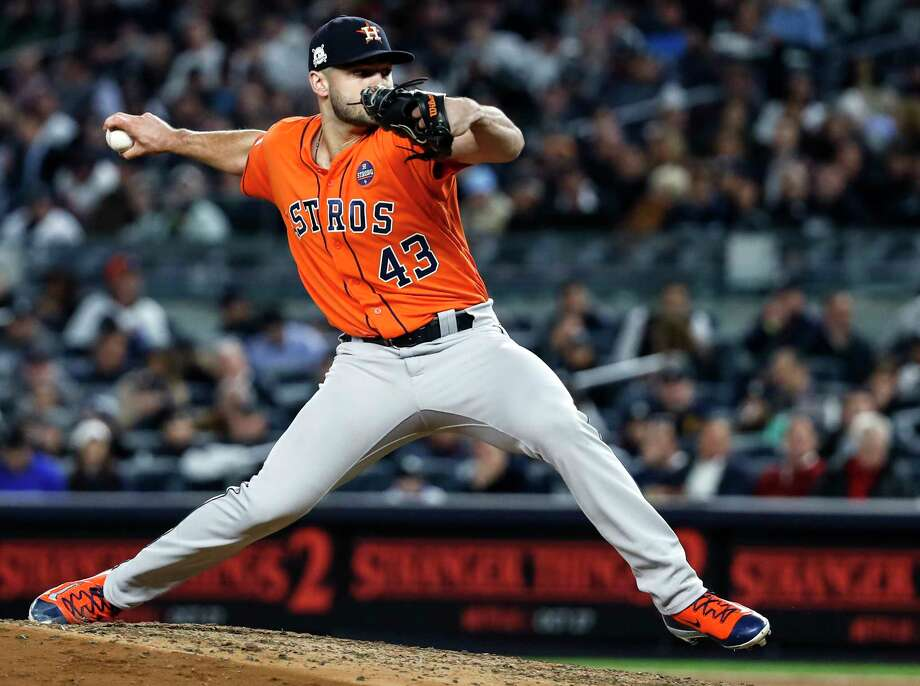 Lance McCullers Jr., who closed out Game 7 of the ALCS, will get the ball as a starter for Game 3 of the World Series tonight at Minute Maid Park. Photo: Karen Warren, Staff / © 2017 Houston Chronicle