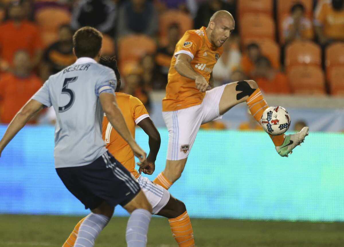ANALYSIS OF THE DYNAMO'S DEPTH CHART  LEFT CENTERBACK  Probable starter: Philippe Senderos  In the mix: Leonardo, Alejandro Fuenmayor  Analysis: Senderos appears to be at the top of the depth chart based on the fact he started and played most of the minutes Saturday. Senderos, 33, and Leonardo, 30, have not exactly been beacons of health in recent years so don't be surprised if they are in and out of the lineup throughout the season.
