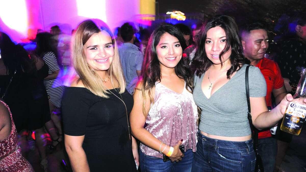 Carmen Lopez, Chanel Hernandez and Estefania Diaz at Hal's Landing Friday, October 27, 2017