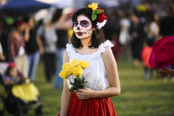 Laredoans headed out to Texas A&M International University for the school's Halloween Fest on Thursday, Oct. 26, 2017.