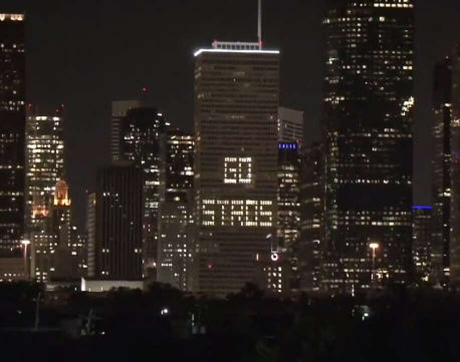 Somewhere with tall buildings. And traffic lights. And sports teams. Photo: Houston Chronicle