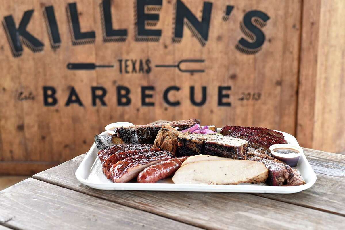 Meat platter at Killen's Barbecue in Pearland. Pitmaster/owner Ronnie Killen has announced his intentions to open a barbecue restaurant in the Woodlands.