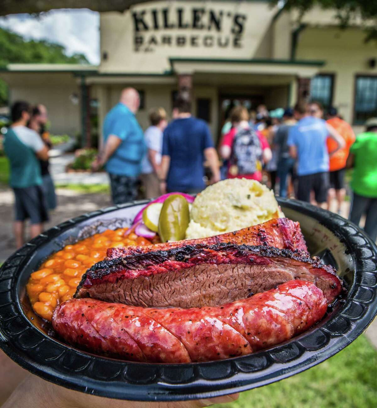 PHOTOS: Top-rated restaurants in the suburbsKillen's Barbecue's cult-like following in Pearland has helped it expand into the Houston market and is one reason why it is the top-rated restaurant in the area. >>See more for the No. 1 rated restaurant in every Houston suburb, according to Yelp...