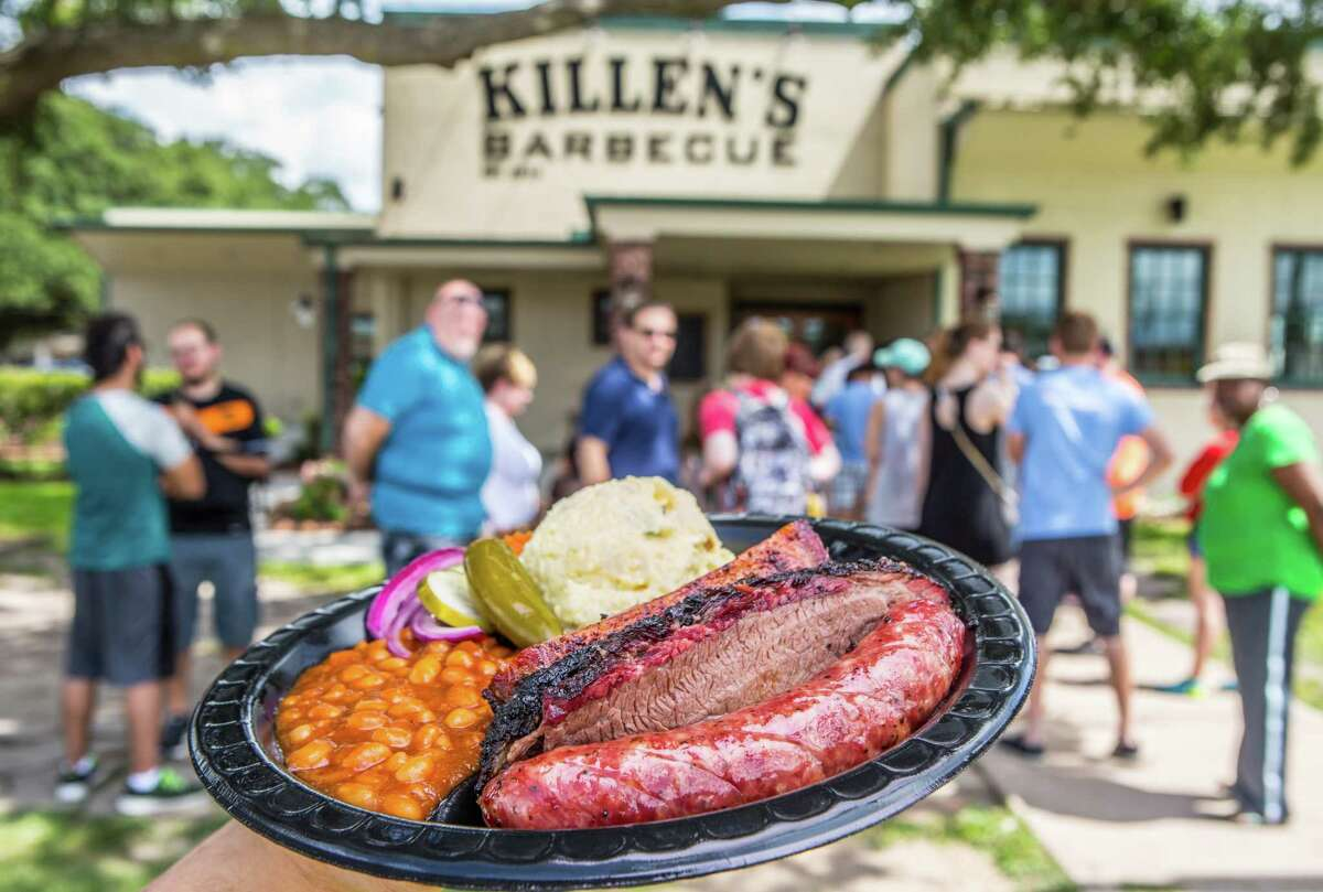 Mayor Sylvester Turner offered to send Los Angeles Mayor Eric Garcetti some Killen's Barbecue and Saint Arnold beer if the LA Dodgers won the World Series.