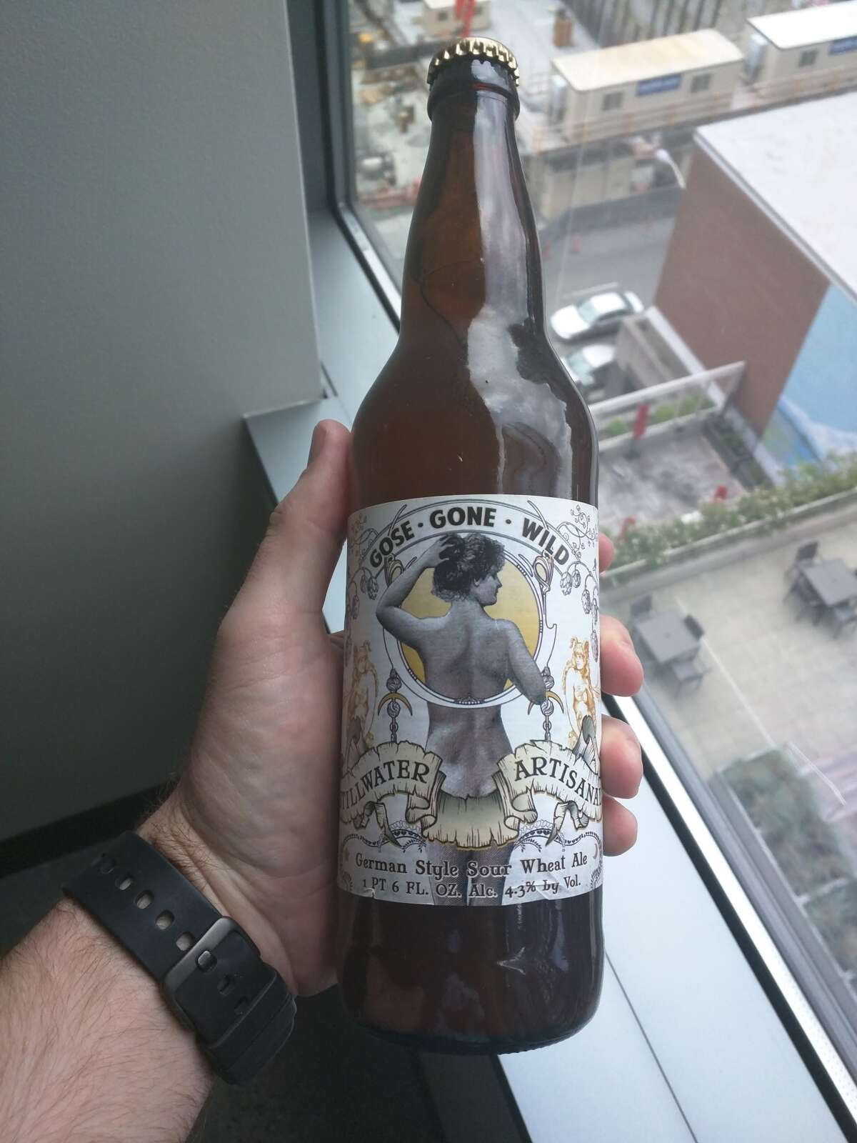 Maryland Gose Gone Wild - German-style sour wheat ale, Stillwater Artisanal Beer Photo credit: