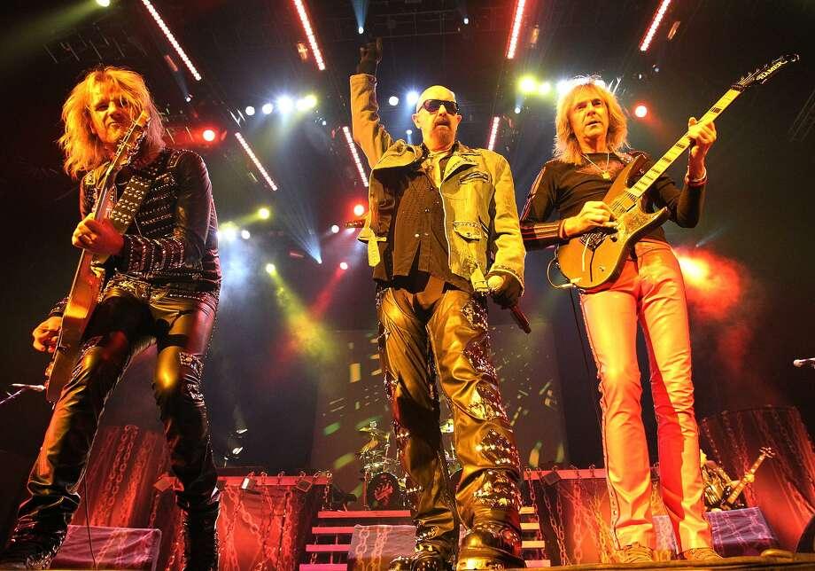 Judas Priest consistently delivers the heaviest of metal during live performances. Photo: Kin Man Hui /San Antonio Express-News / San Antonio Express-News