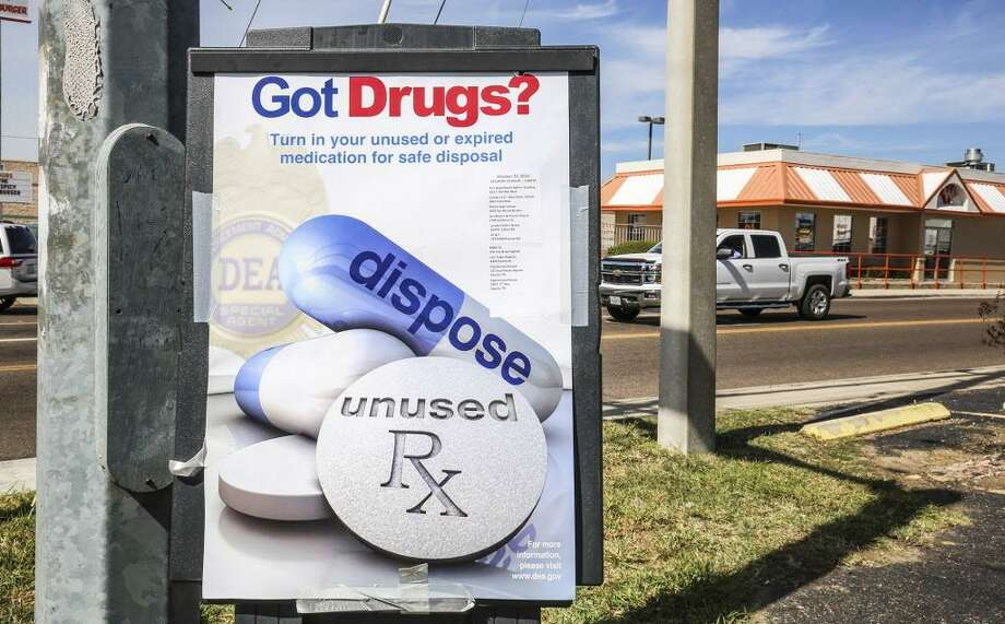 The U.S. Drug Enforcement Administration and participating law enforcement coordinate a nationwide drug take-back day twice a year. Photo: File Photo