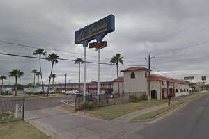 Police officers responded to La Hacienda Hotel, 4914 San Bernardo Ave., for a report of a deceased person.