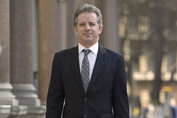 Trump dossier. Christopher Steele, the former MI6 agent who set-up Orbis Business Intelligence and compiled a dossier on Donald Trump, in London where he has spoken to the media for the first time. Picture date: Tuesday March 7, 2017. See PA story POLITICS Trump. Photo credit should read: Victoria Jones/PA Wire URN:30440595