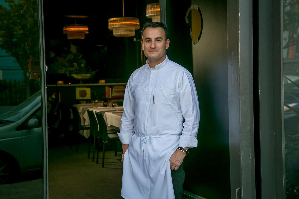Chef Val M. Cantu of Californios in San Francisco, Calif. is seen on October 14th, 2017.