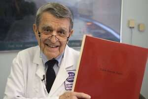 """Dr. John Sarno in a still from the documentary """"All the Rage"""""""