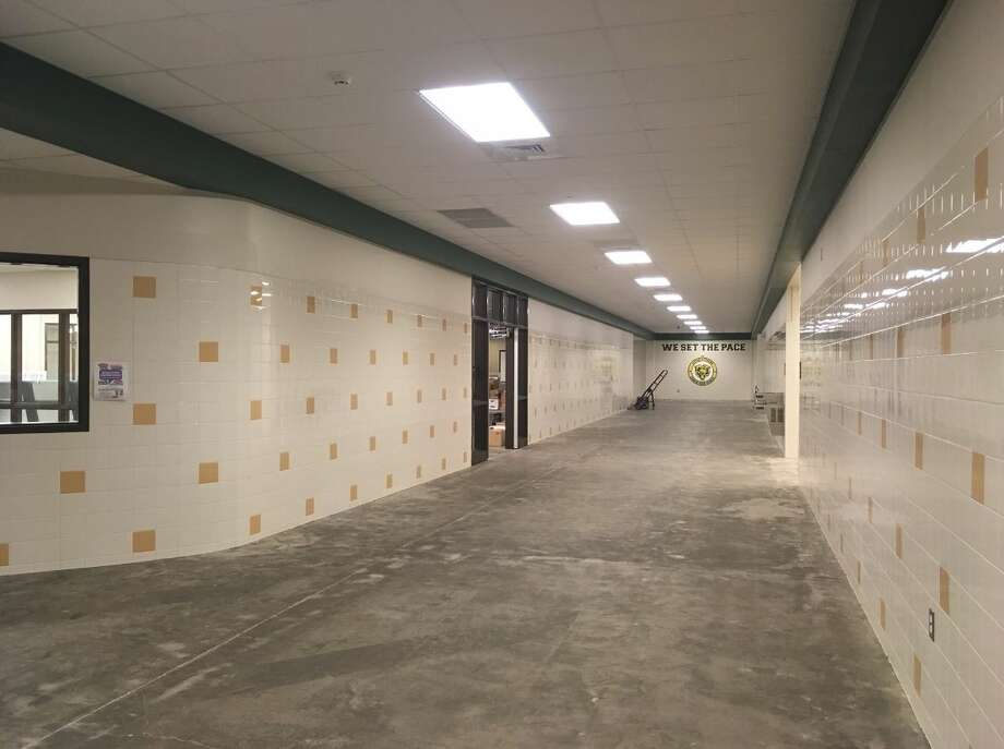 Little Cypress-Mauriceville CISD will reopen the Little Cypress Junior High campus for elementary students Monday, Oct. 30, 2017. Photo: Liz Teitz/The Enterprise Photo: Liz Teitz/The Enterprise
