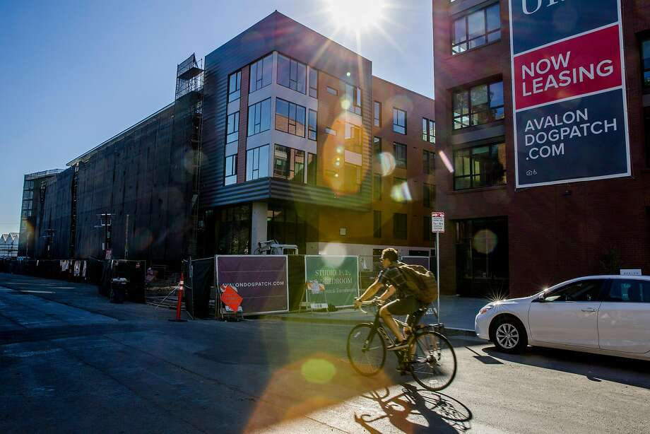 The Avalon Dogpatch development is one of many housing complexes springing up in the neighborhood. Photo: Santiago Mejia, The Chronicle