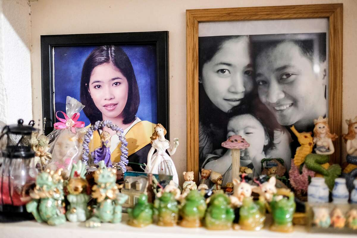 Memorabilia and family photos are seen inside the Cuartero residence in Novaliches, Quezon City last July 1, 2017. Rolando and his wife are just one of several individuals who shifted from the traditional corporate office setup to home based Business Process Outsourcing (BPO) Industry as he said it is more favorable for them financially and also for the family as their son needs special medical attention.