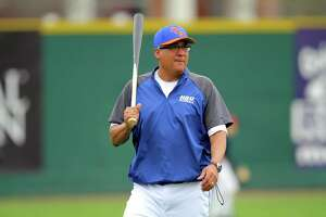 Former Houston Astros pitcher and Port Arthur Thomas Jefferson graduate Xavier Hernandez currently works as an assistant coach for Houston Baptist University. (Photo provided by HBU Athletics)
