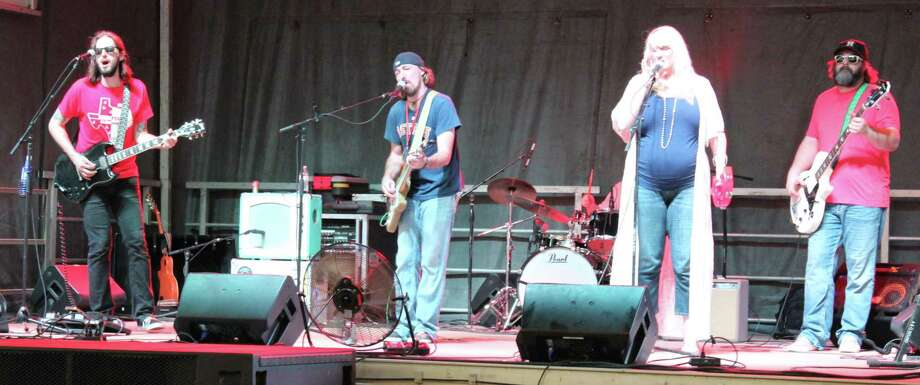 The Lime Traders perform onstage for the crowd at the Cleveland MusicFest on Oct. 21. Photo: Jacob McAdams