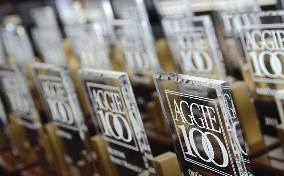The Aggie 100 program identifies, recognizes, and celebrates the 100 fastest-growing Aggie-owned or operated businesses throughout the world. Photo: Mays Business School At Texas A And M