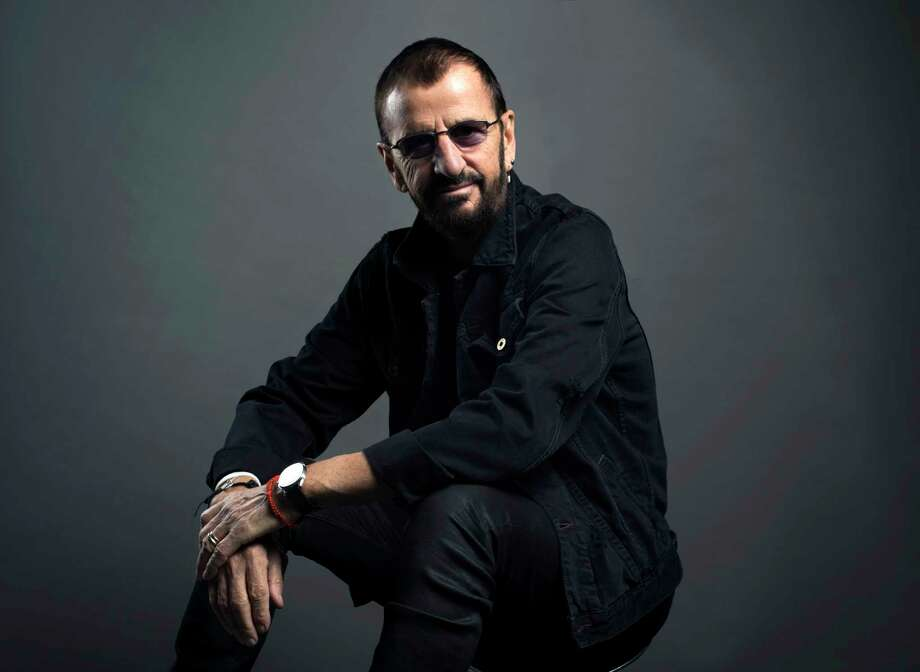 Ringo Starr poses for a portrait on Monday, June 13, 2016, in New York. Starr is currently on a U.S. tour with his All-Starr band, which wraps on July 2 in Los Angeles. He turns 76 on July 7.  (Photo by Scott Gries/Invision/AP) Photo: Scott Gries, INVL / Invision