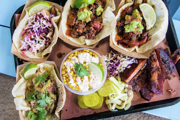 Valentina's Tex-Mex BBQ in Austin arguably set the trend for blending the cuisines.