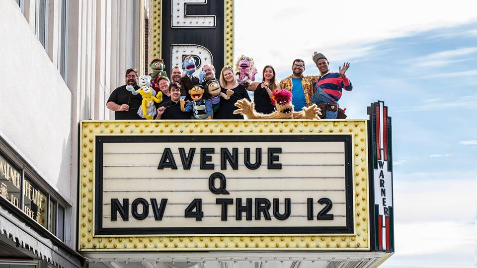 Avenue Q On Stage At The Warner Stamfordadvocate