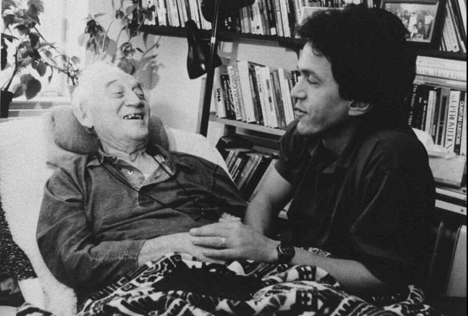 """When Mitch Albom heard his old professor, Morrie Schwartz, was not doing well, he made it a point to visit his former mentor. The result was a best-seller, """"Tuesdays with Morrie."""" Photo: Mitch Albom / Contributed Photo"""