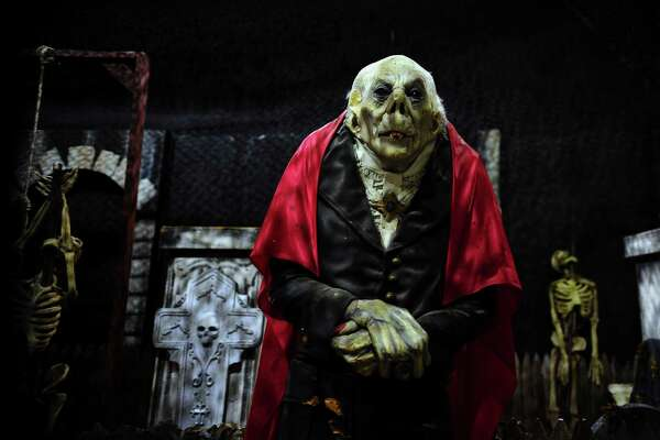 Fright Haven, a haunted attraction for Halloween, is located in the former Balley's Fitness Center in Stratford Square Shopping Center in Stratford, Conn., on Tuesday Sept. 13, 2016. Fright Haven is being called CT's Greatest Indoor Haunted Attraction, with three separate haunted mazes. File photo.