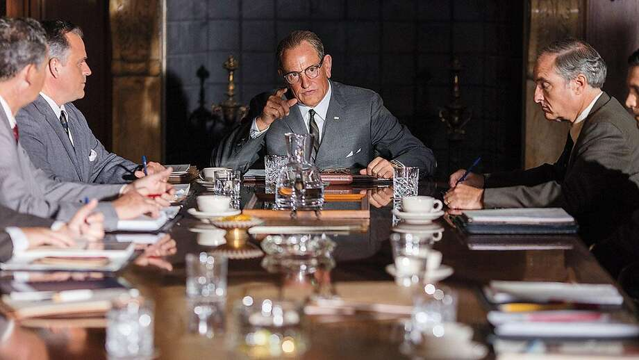 Woody Harrelson sports a comical makeup job in Rob Reiner's portrait of Lyndon Johnson. Photo: Courtesy Photo