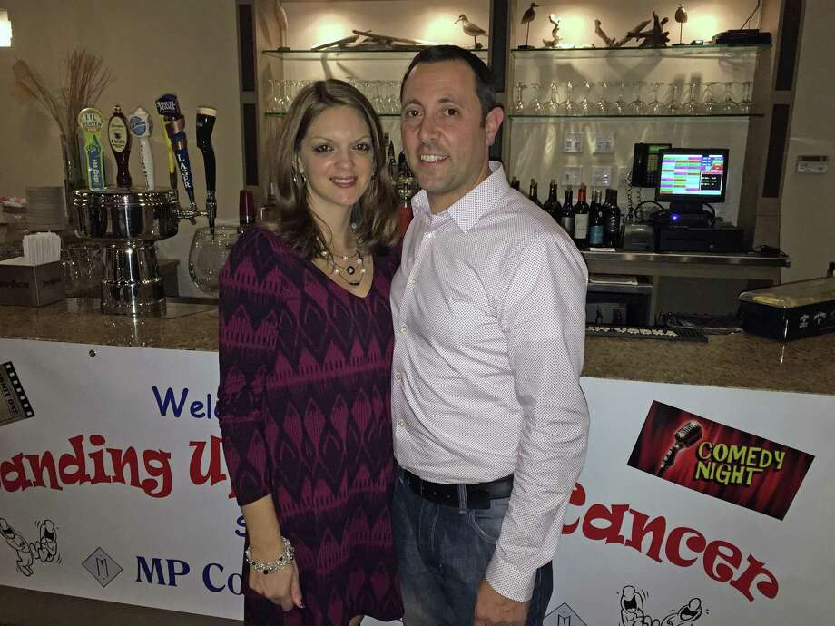 Nichole and Murizio Paniccia of Trumbull are co-chairs of the annual Standing Up to Cancer event is sponsored by MP Construction, LLC. Photo: Contributed Photo / American Cancer Society / Contributed Photo / Connecticut Post Contributed