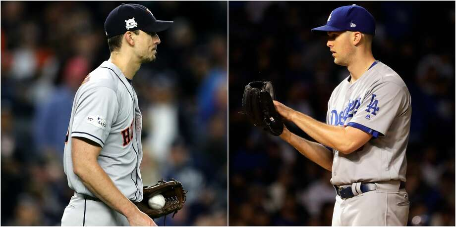 Atlanta is in both of their rear-view mirrors, but it's not a stretch to call their Saturday night showdown a brave new world for Charlie Morton and Alex Wood. Photo: AP/Getty