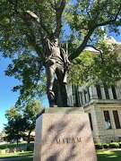 Milam County, created in 1837, is named for Ben Milam, hero of the Texas Revolution.