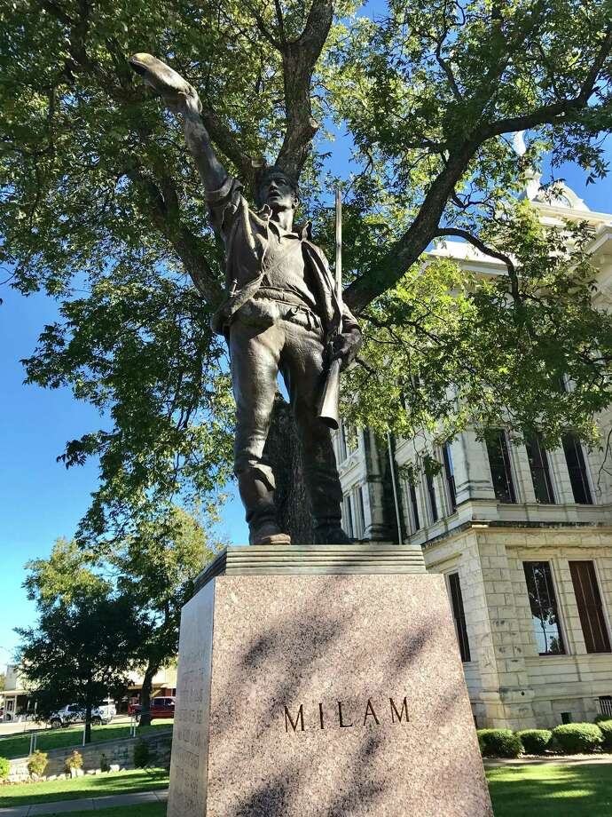 Milam County, created in 1837, is named for Ben Milam, hero of the Texas Revolution. / Houston Chronicle