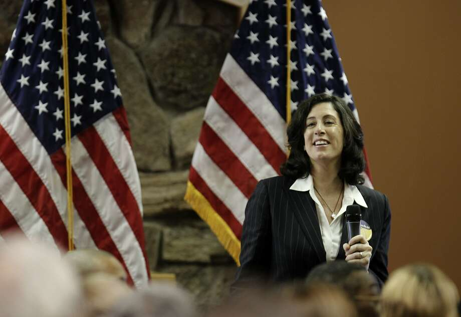 Christine Pelosi joined her mother Democratic Leader Nancy Pelosi at the  annual District Community New Year's Celebration today, at Delancy Street in San Francisco, Calif., on Saturday, January 8, 2011. Photo: Michael Macor, The Chronicle