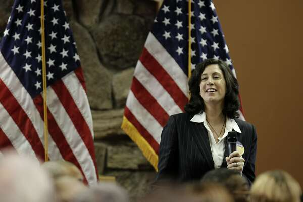 Christine Pelosi joined her mother Democratic Leader Nancy Pelosi at the annual District Community New Year's Celebration today, at Delancy Street in San Francisco, Calif., on Saturday, January 8, 2011.