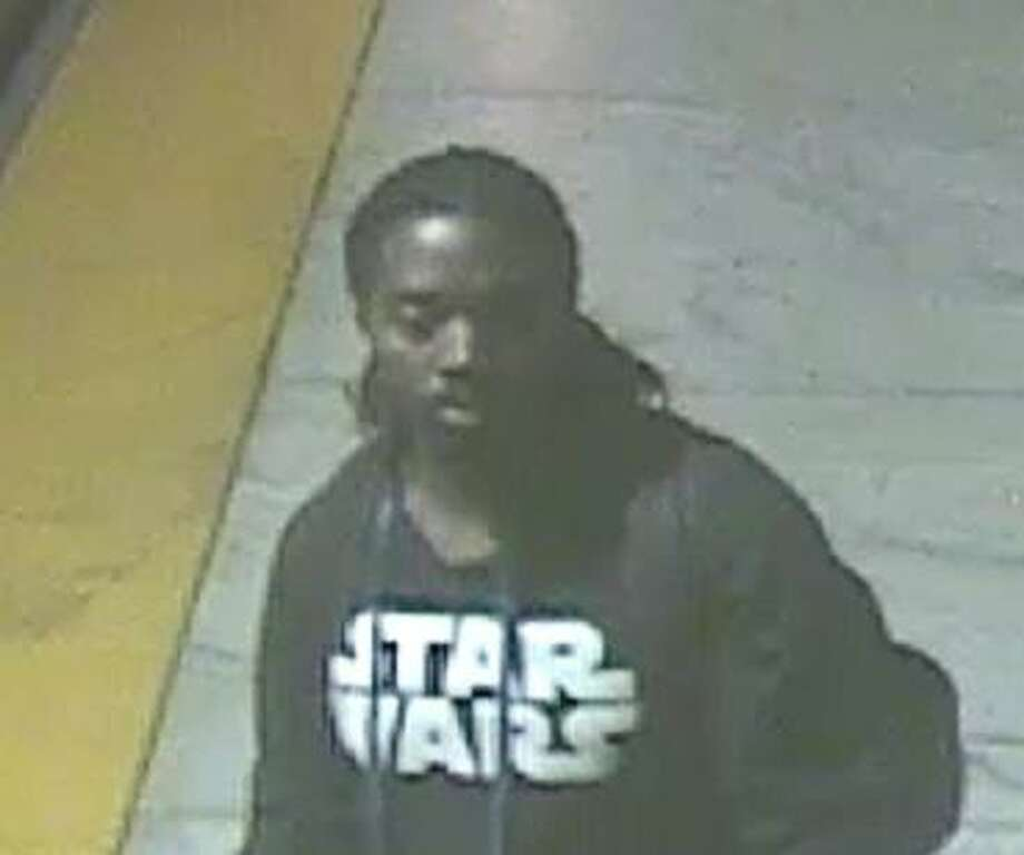 This man was seen at the Embarcadero Station drawing a swastika similar to the ones reported over the past week. BART police are seeking the public's help in identifying him.