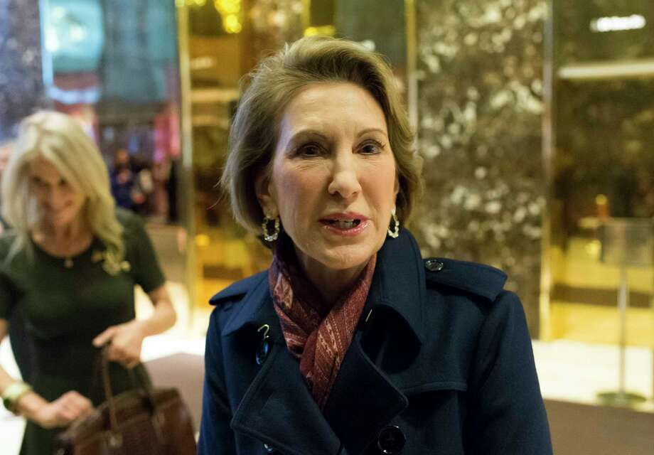 """Carly Fiorina says  sexual harassment  """"goes on a lot."""" Photo: Albin Lohr-Jones, MBR / Abaca Press"""